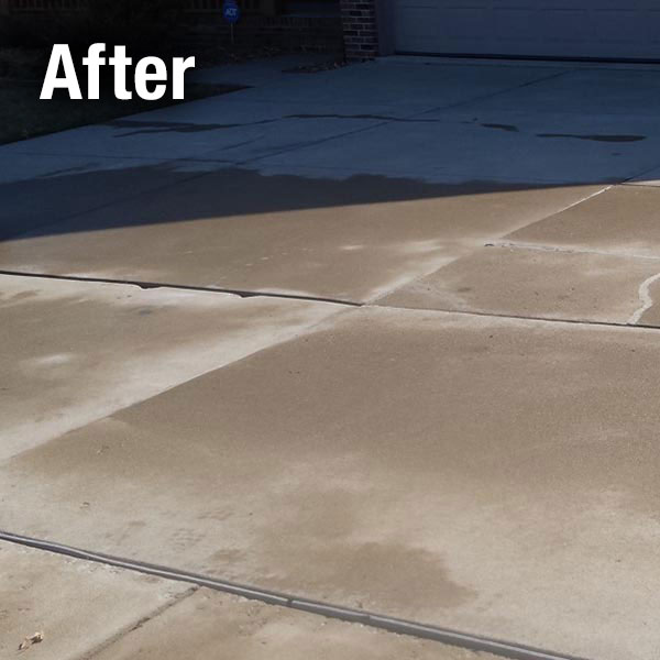 A-1 Concrete Lexington Driveway Leveling After