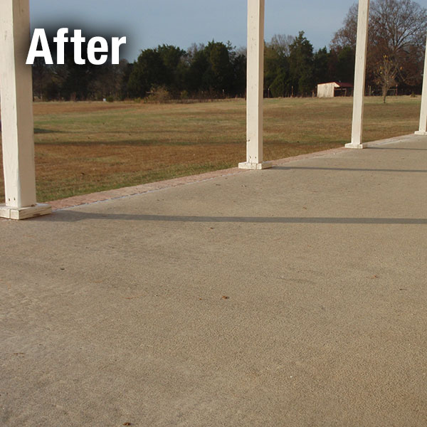 Lexington​ Concrete Patio Leveling - After