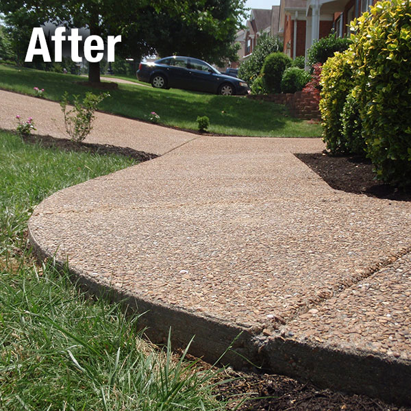 Lexington Concrete Sidewalk Leveling - After
